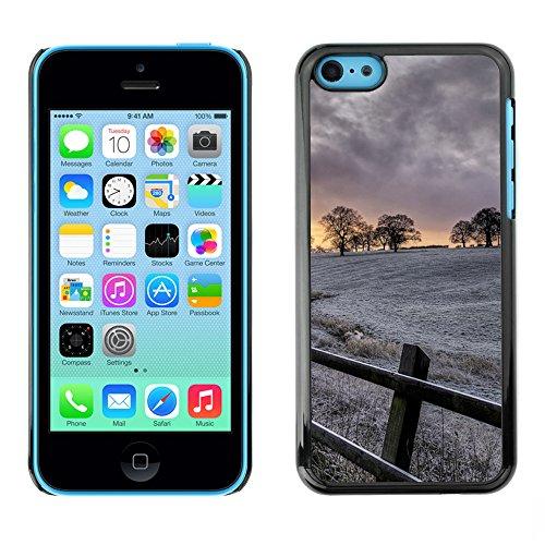 Premio Sottile Slim Cassa Custodia Case Cover Shell // F00007075 le coucher du soleil // Apple iPhone 5C