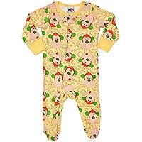 Macacão Pijama bebê Amarelo G, TipTop, Amarelo, G