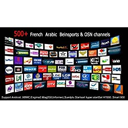 arabic tv box channels mbc bein sport 690 channels