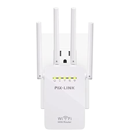 Boosters, Extenders & Antennas Wifi Extender 300mbps High-speed Network Signal Booster 2.4ghz Wi-fi Long Ran...