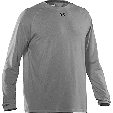 e301348f Amazon.com : Under Armour UA Youth Locker LS Tee [Grey] : Clothing