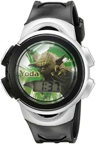 Star Wars Kids' SWCKD305CT Digital Display Quartz Black Watch