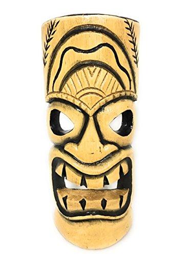 Tiki Pop Art - Laughing Tiki Mask 12