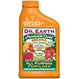 Dr. Earth 1014 Premium Gold Organic All-Purpose Fertilizer, 24-Ounce