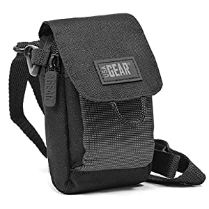 Shoulder Strap Camera Case Bag with Weather-Proof Exterior , Storage Pocket & Scratch-Resistant Interior Lining by USA GEAR