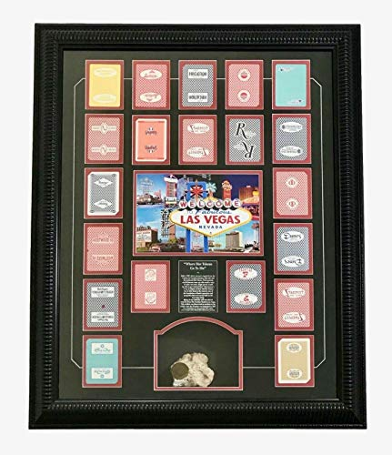 FRONTIER HOTEL CONCRETE SLOT TOKEN SLAB LAS VEGAS PLAYING CARD COLLAGE POKER from Inscriptagraphs