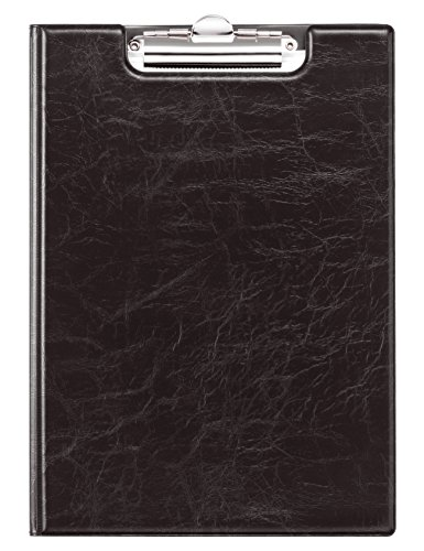 Durable 235501 Block Wallet with Spring Terminal, A4 (Black)