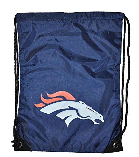 Team Logo Drawstring Backpack (NFL Football Team Logo Drawstring Backpack Bag - Pick Team (Denver Broncos))