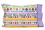 Slumber Party Supplies - Owl Pillowcase - Personalize your LET YOUR LIGHT SHINE pillowcase - Fun gifts for kids and teens- Super cute pillowcase - Christian gifts for kids