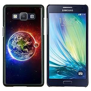 Caucho caso de Shell duro de la cubierta de accesorios de protección BY RAYDREAMMM - Samsung Galaxy A5 A5000 - Espacio Planet Galaxy Estrellas 63