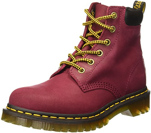 Dr. Martens Women's 939 Lace-Up Ankle Boot, Dark Brown, 4 M UK/6 M US (Dr Martens 4 Eye)