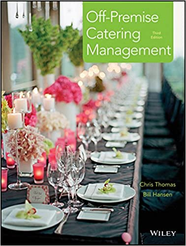 Book Off-Premise Catering Management