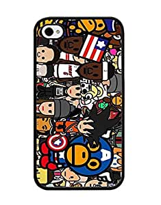 Hard Cell Phone Funda Case Cover Cover For Iphone 4 / 4s Bape, Brand IRTHloi