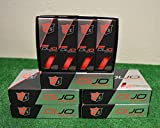 6 Dozen Wilson Staff Duo Optix - Matte Red Golf Balls