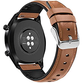 Amazon.com: LeafBoat Compatible Huawei Watch GT Band, 22mm ...