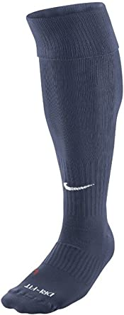 vistazo habilitar Reorganizar  NIKE Classic Soccer Socks (L, Midnight Navy/White) : Clothing - Amazon.com