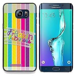 """Planetar ( Escarcha Negro Azul Profundo Significado Limpio"""" ) Samsung Galaxy S6 Edge Plus / S6 Edge+ G928 Fundas Cover Cubre Hard Case Cover"""
