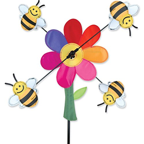 Whirligig Spinner - 13 In. Bumble Bees Spinner