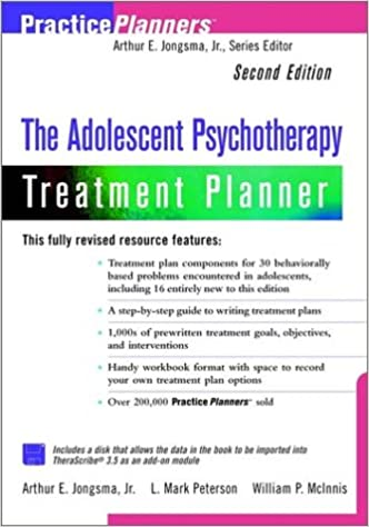 Book The Adolescent Psychotherapy Treatment Planner (PracticePlanners)