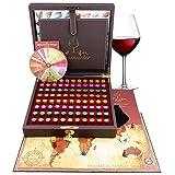 Master Sommelier Wine Aroma Kit - 88 Wine Aromas (Wine Aroma Wheel included)
