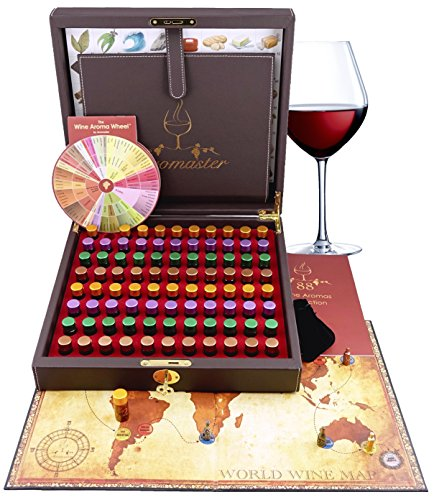 Master Wine Aroma Kit - 88 wine aromas (wine aroma wheel and board game included) ()