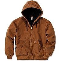Carhartt Men's Quilted Flannel Lined Sandstone Active Jacket J130