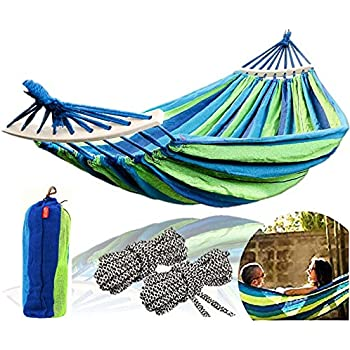 KingCamp Camping Hammock Breathable Lightweight Portable Cool Mesh Hammocks for Outdoor Patio,Tree Beach and Hiking 2 Tree Straps Included