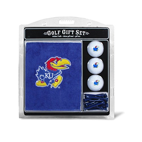 University of Kansas Embroidered Towel Gift (Kansas Jayhawks Embroidered Towel)