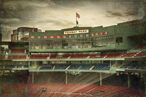 Vintage Fenway Park Wall Art, Boston Red Sox Photos, Framed or Unframed Print or Canvas ()