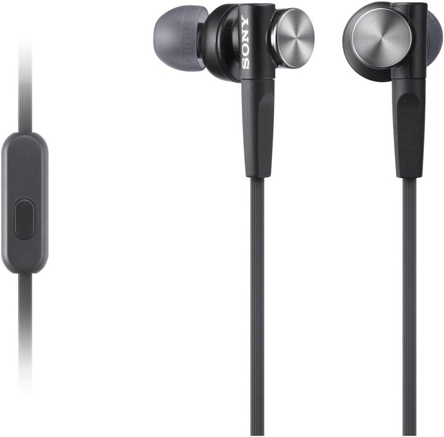 Sony MDRXB50APB.CE7 - Auriculares intraurales (Extra Bass, micrófono Integrado), Negro