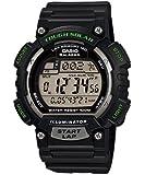 Casio Men's STLS100H-1AV Solar Powered Runner's Watch, Black