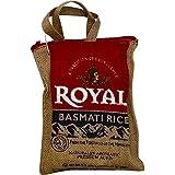 Royal Basmati Rice, 2 Pound Burlap Bag