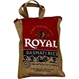 Royal Basmati Rice, 2 Pound Burlap Bag