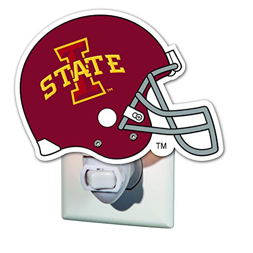 (Team Sports America Iowa State University Helmet Glass Night Light)