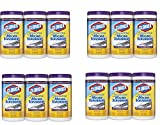 Clorox Disinfecting Wipes with Micro-Scrubbers Value Pack,Crisp Lemon, asRTll 840 Count