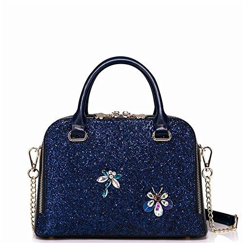 Bolso GWQGZ Pieza Moda En Nueva Paquete Azul Una Dama Todo Un La Hombro Sola Hombro Span wRrRcFqI
