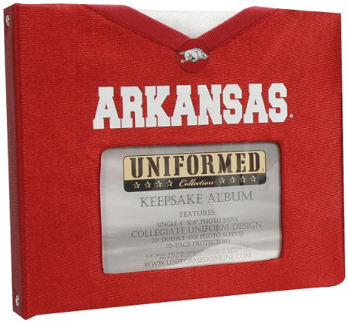 Vintaj UNIFORMED University of Arkansas Keepsake/Photo Album