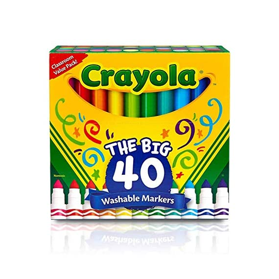 Crayola-Ultra-Clean-Washable-Broad-Line-Markers