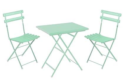 Set Arc en Ciel Emu: 2 sillas plegables Art. 314 + 1 mesa plegable ...