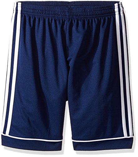 adidas Youth Soccer Squadra 17 Shorts, Dark Blue/White, XX-Small