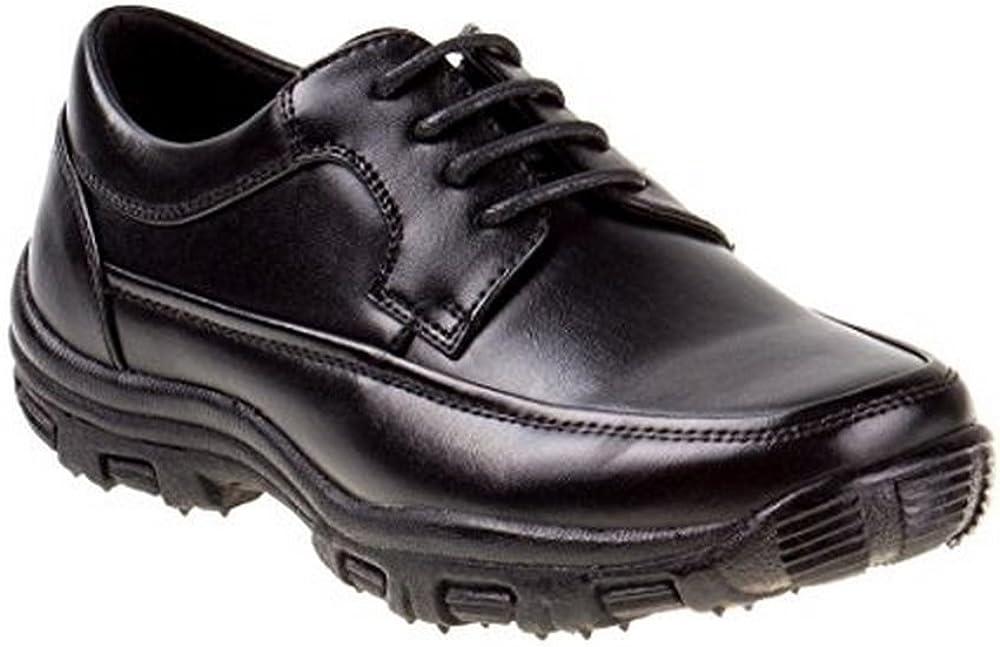 1 Joseph Allen Boys Lace-Up Casual Shoe Black
