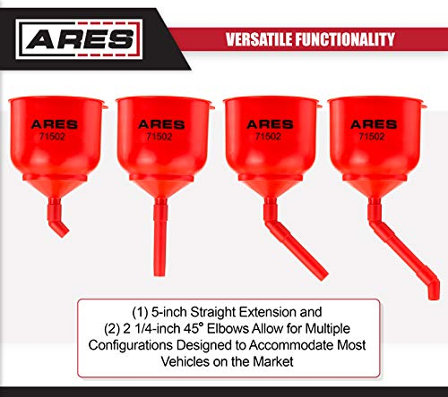 ARES 71502 | Spill Proof Coolant Filling Kit | Eliminates Trapped Air Pockets and Squeaky Belts Due to Overflow by ARES (Image #3)