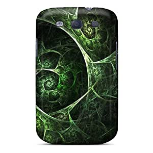 Excellent Design Green Abstract Case Cover For Galaxy S3