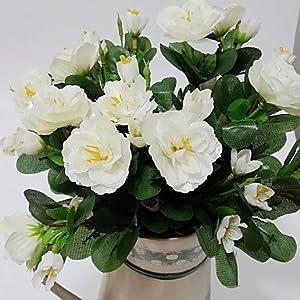 CLG-FLY Silk Azalea Artificial Flowers725 27