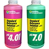 General Hydroponics Ph 4.01 & Ph 7.0 Calibration Solution Kit, 1 pint