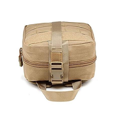 Para Exteriores Botiquín de primeros auxilios - Bolsa de supervivencia para emergencias, Diseño profesional para el coche, hogar, camping, caza, viajes, ...