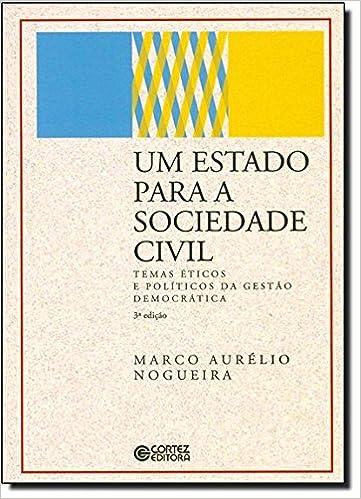 Book Estado para a Sociedade Civil, Um