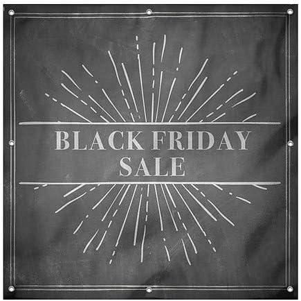 CGSignLab 8x2 Holiday Sale Basic Black Heavy-Duty Outdoor Vinyl Banner