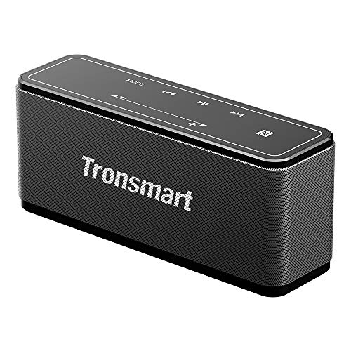 Tronsmart Mega Altavoz Bluetooth Estéreos Premium 40W con Radiador Pasivo, Altavoz inalámbrico Portátil Subwoofer, 3D…