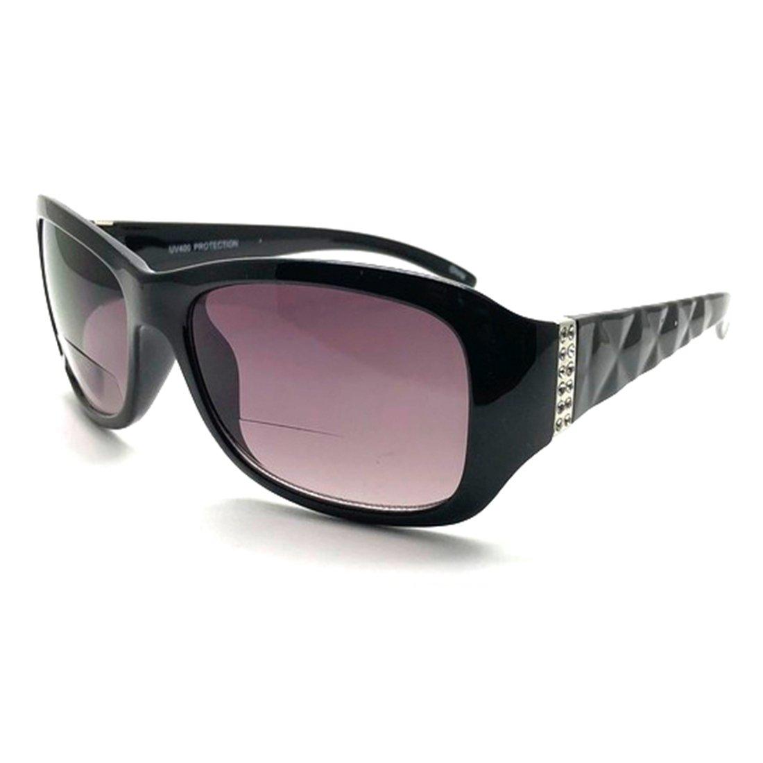 f32e59588633 Amazon.com  Bifocal Sun Readers All in One Women Premium Designer Fashion Sunglasses  Reading Glasses (Tortoise